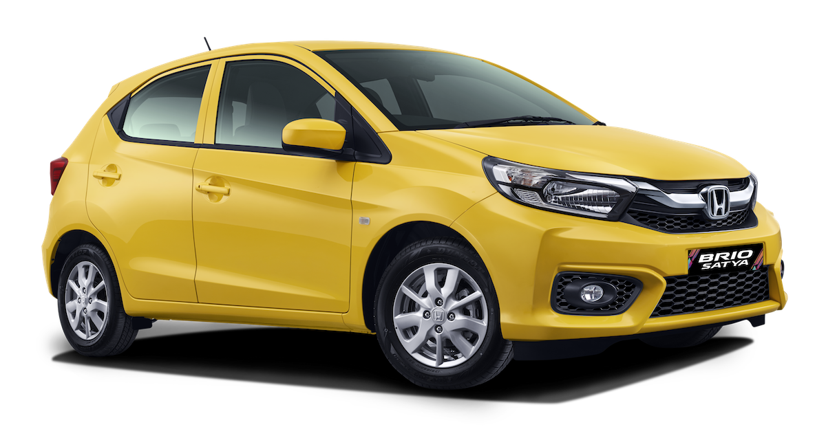 All New Honda Brio Satya S MT